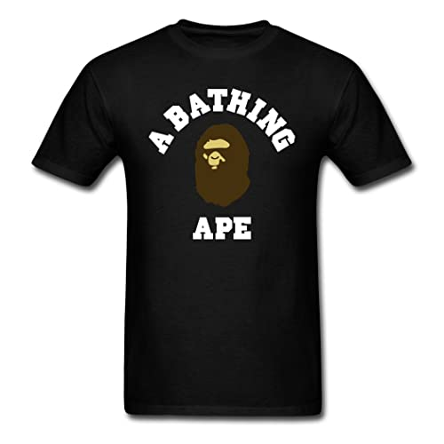 69a518dd Oyasumi Men's A Bathing Ape High Quality Black T-Shirt L