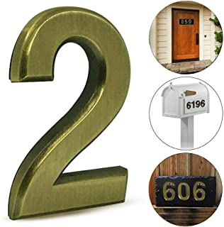 Best stick on door numbers and letters Reviews