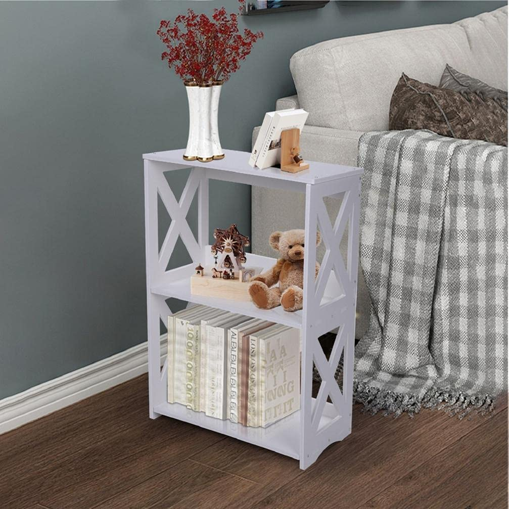 Dallas Mall CCHH End Washington Mall Table White Side 2 Nightsta Simple Bedside Tier