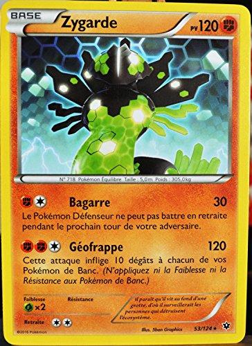 carte Pokémon 53/124 Zygarde 120 PV XY - Impact des Destins