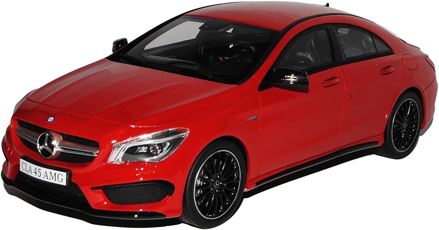 Mercedes-Benz CLA 45 AMG C117 Limousine Rot Ab 2013 Nr 031 1 18 GT Spirit Modell Auto