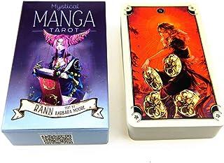 Mystical Manga Tarot, 神秘的なマンガタロット、ユニークなタロットカード、78のクラシックタロットカード、運命告知ツール、運命予測カードゲーム、最も革新的なタロットカードゲームカード、ボードゲーム[英語版]