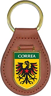 Correa Family Crest Coat of Arms Key Chains