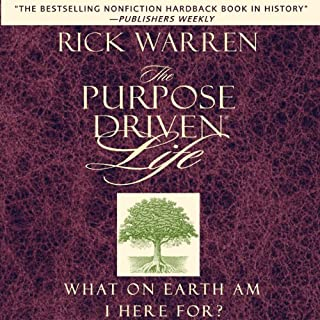 The Purpose-Driven Life     What on Earth Am I Here For?              By:                                                                                                                                 Rick Warren                               Narrated by:                                                                                                                                 Rick Warren                      Length: 9 hrs and 2 mins     1,134 ratings     Overall 3.9