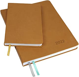 """$34 » Sponsored Ad - 2022 Planner: Extra Thick Paper 8""""x10"""" Resolute Planner with, 14 Months (November 2021 Through December 202..."""