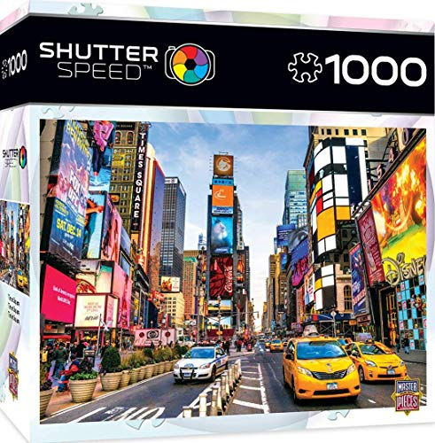1000 piece puzzles time square - 4