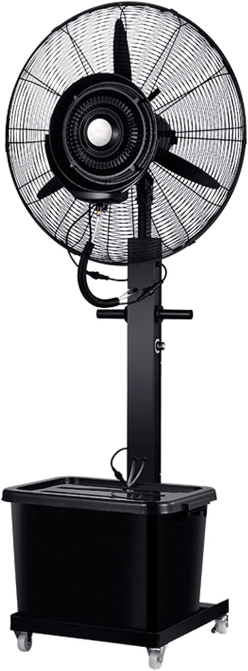 qwert Ventilador De Nebulización De Pedestal Alta Potencia 32