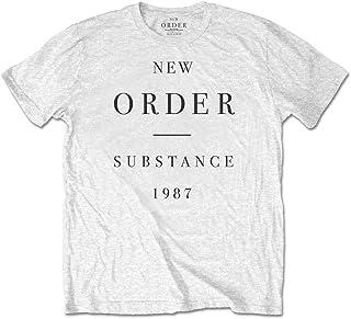 NEW ORDER ニューオーダー (結成40周年) - Substance/Tシャツ/メンズ 【公式/オフィシャル】