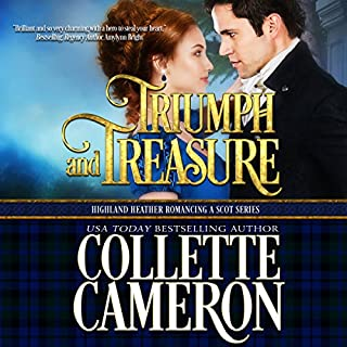 Triumph and Treasure audiobook cover art