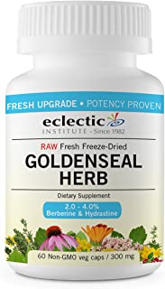Eclectic Goldenseal Herb 300 Mg Fduv, Blue, 100 Count