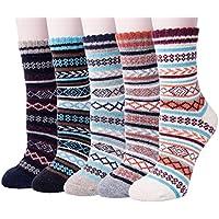 5-Pack Senker Womens Senker Wool Winter Warm Sock