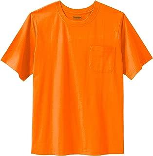 Men's Big & Tall Heavyweight Crewneck Pocket T-Shirt