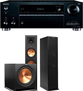 Onkyo TX-RZ710 7.2-Channel Network A/V Receiver + Klipsch RP-280F + Klipsch R-115SW - 2.1 Reference Premiere Home Theater Package