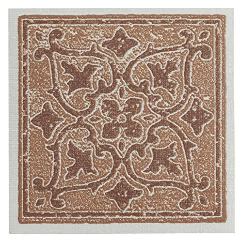 Achim Home Furnishings WTV402AC10 Nexus Accent Wall Tile, 4 by 4-inch, Terra, 27-Pack, 4 x 4 x 1.5 mm Thick