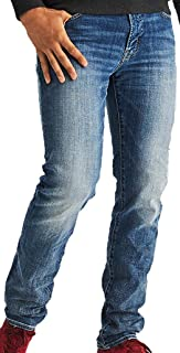 American Eagle Mens 360 Extreme Flex Slim Straight Jean, Indigo Acid