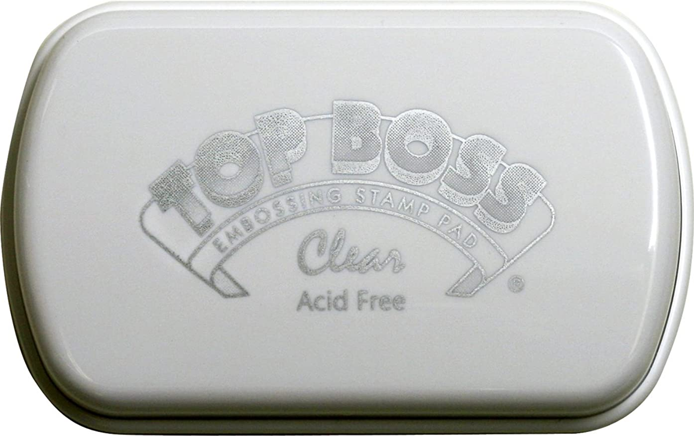 CLEARSNAP Top Boss Full Size Inkpads, Clear
