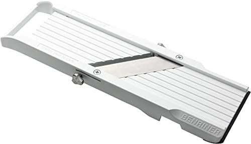 2021 Benriner lowest Mandoline Slicer, outlet online sale with 4 Japanese Stainless Steel Blades, BPA Free, New Model sale
