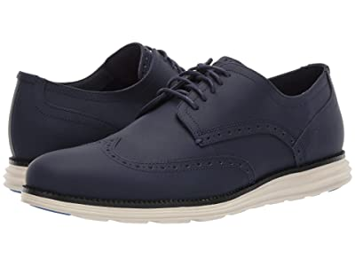 Cole Haan Original Grand Wing Chorino Matte Leather (Marine Matte) Men