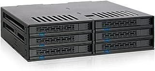 Icy Dock ExpressCage MB326SP-B - 6 Bahías SAS/SATA HDD/SSD 2.5