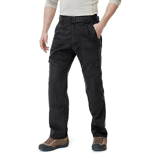 3de886ff18 CQR Men's Tactical Pants Lightweight EDC Assault Cargo TLP104 / TLP105