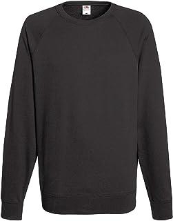 Fruit of The Loom Lightweight Raglan Sweatshirt Blank Plain SS970