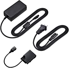 Kapaxen EH-5 AC Adapter and EP-5A Power Supply Connector Kit for Nikon D5500, D5300, D5200, D5100, D3400, D3300, D3200, D3100, Df, Coolpix P7800, P7700, P7100, P7000 Cameras