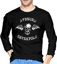 Avenged Sevenfold Long Sleeve T-Shirt Crew Neck Long Sleeve Printed Shirt Graphic Tee Tops
