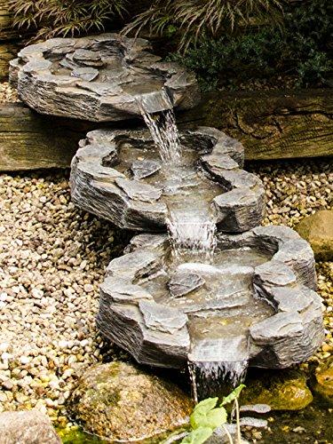 Köhko 3-teiliger Bachlauf Mulde-Mündung Wasserfall Verlängerung 140016