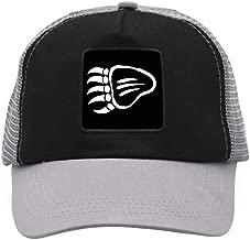 QSXIN Native American Bear Paw Baseball Cap Mesh Cap with Adjustable Snapback Strap Hat Grid Hat