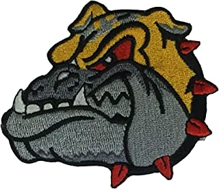 BULLDOG CUTOUT PATCH - COLOR - Veteran Owned Business