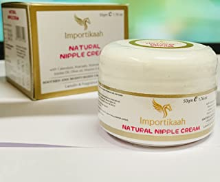 IMPORTIKAAH Natural Nipple Cream | Soothes and Moisturises | Cracked Nipples | 50g