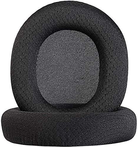 Jewaytec Coussinets d'oreille de Rechange/Coussin d'oreille/Cuvettes d'oreille/Protège-Oreilles pour Pièces de Réparation pour Casque de Jeu sans Fil Arctis Pro Arctis 5 Arctis 3 - Noir
