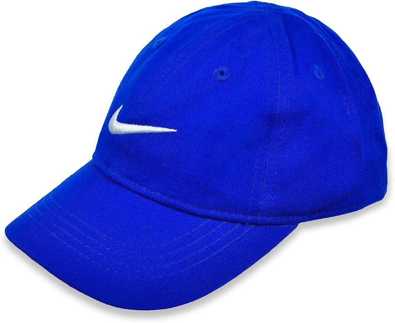 Nike Kid`s Adjustable Solid Swoosh Cotton Baseball Cap