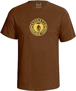 Gs-eagle Men's Sasquatch Bigfoot Research Team Graphic T-Shirt