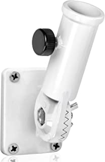 Anley Multi-Position Flag Pole Mounting Bracket with Hardwares - Made of Aluminum - Strong and Rust Free - 1
