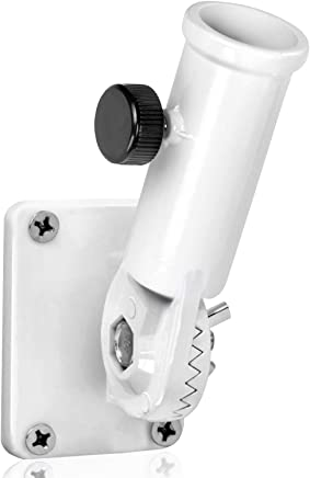 """Anley Multi-Position Flag Pole Mounting Bracket with Hardwares - Made of Aluminum - Strong and Rust Free - 1"""" Diameter"""