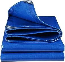 FENGMING-yb Luifels Tarpaulin Blauwe Schaduw Tarp Autodak Outdoor Heavy Duty Geteerd zeildoek 500g/m² Multifunctionele Tar...