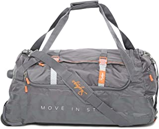 Skybags Polyester 35 cms Grey Travel Duffle (DFTSANH65SGY)