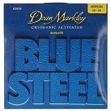 Dean Markley 2038 Blue Steel Acoustic Guitar Strings 13-56 medium gauge
