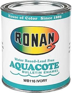 Ronan Aquacote Enamel 8 Oz Ivory