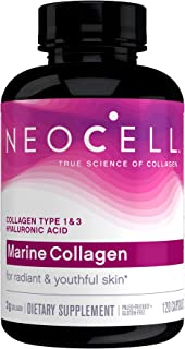 Neocell Marine Collagen plus Hyaluronic Acid Capsules 2000mg, 120 Count
