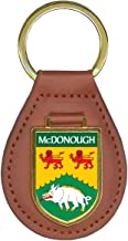 McDonough Family Crest Coat of Arms Key Chains