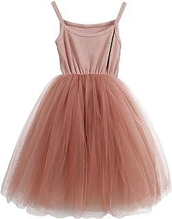 JNKLWPJS Baby Girls Tutu Dress Sleeveless Infant Toddler Princess Party Tulle Sundress