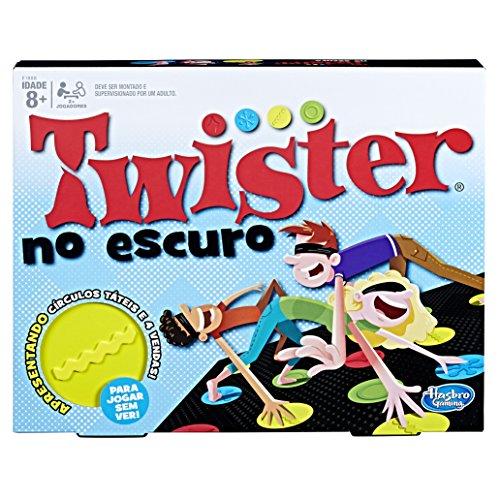 Hasbro Gaming Jogo Gaming Twister No Escuro