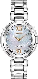 Citizen - Reloj Citizen Capella de acero inoxidable para mujer - EX1510-59D