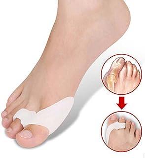 Sungpunet One Pair Silicone Footful Foot Pain Relief Hallux Valgus Big Toe Gel Toe Separators Stretchers Bunion Splint Spa...