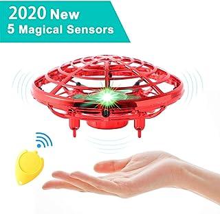 Ajcoflt Mini Drone UFO Operado À Mão RC Helicóptero Drone Aeronaves de Indução Infravermelha Voando Bola Brinquedos Para C...