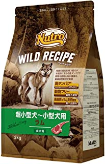 ニュートロジャパン ワイルド レシピ [超小型犬-小型犬用] 成犬用 ラム 2kg