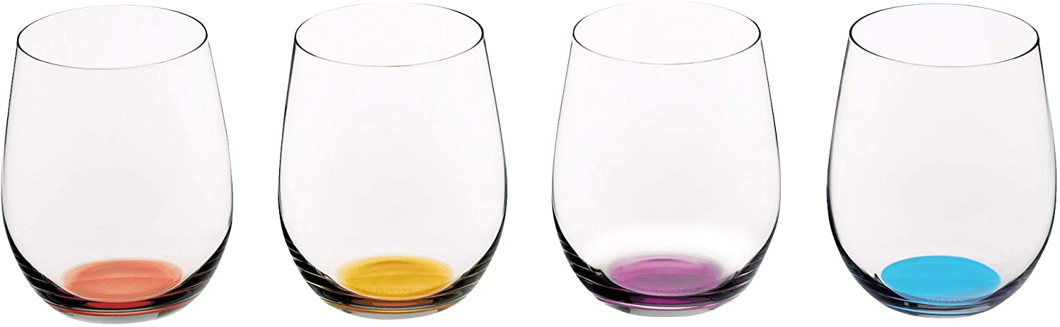 Riedel Happy O Wine security Ounces Tumbler Bombing new work Multicolor 11.25
