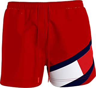 Tommy Hilfiger SF Medium Drawstring Maillot de Bain, Primary Red, L Homme